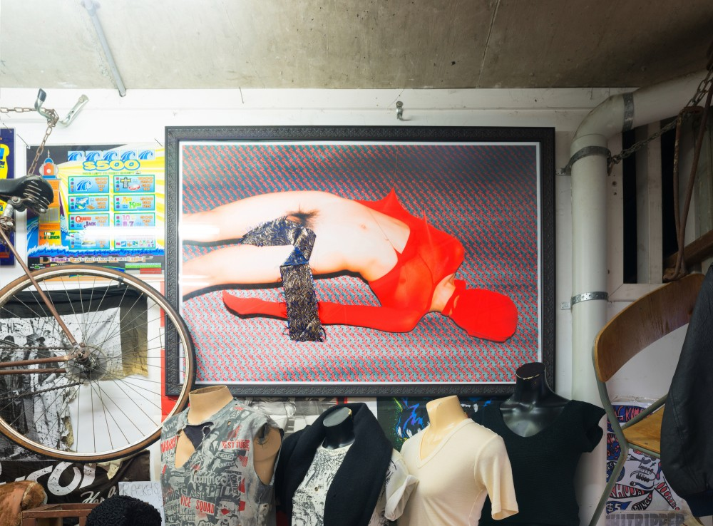 Xun Cao *The Passion of Cut Sleeves*, Digital prints with silk and cotton 2015