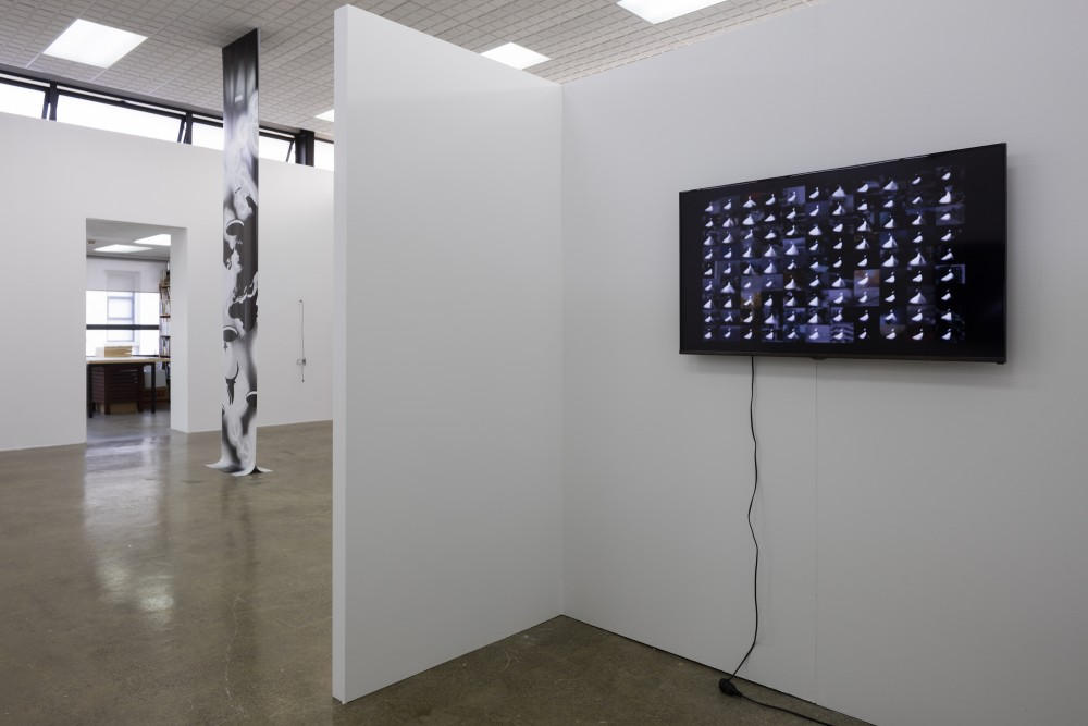 Khaled Sabsabi, *99 *(2010).  2 channel video from multimedia installation, scent, 2min.