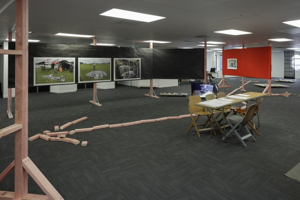 *Local Time* • *Local Time*: Waitangi 2 Feb-6 Feb 2017 1000+1300, 2017 A contribution to *Politics of Sharing* that was to extend the opportunities for exchange, and collective, situational learning within the exhibition by undertaking fieldwork at Te Tii Marae during the lead up to Waitangi Day. *Local Time* have worked with Ngāpuhi photographer John Miller to collaboratively offer a presentation of his work, and the opportunity for people to hear his kōrero.