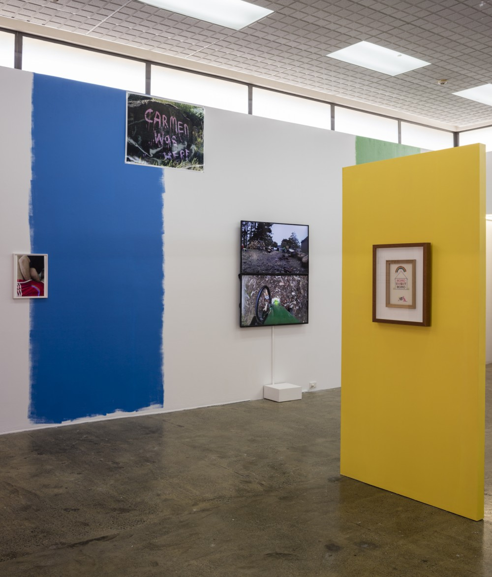 *arms and legs* Wolfgang Tillmans 2014  *CARMEN Was HERE* Fiona Clark Awakino, Waikato  2002  *Split* Alex Monteith Catherine Opie 2011 (14:32mins)  *Homo is where the heart is* Dale Harding 2012