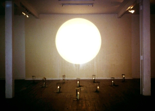 From the archive:  Julia Morison, *Love Philtres*, installation view at Artspace Aotearoa in *Mediatrix: New work by seven women artists* (group), 17 August — 17 September 1993